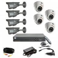 Комплекты видеонаблюдения (26)